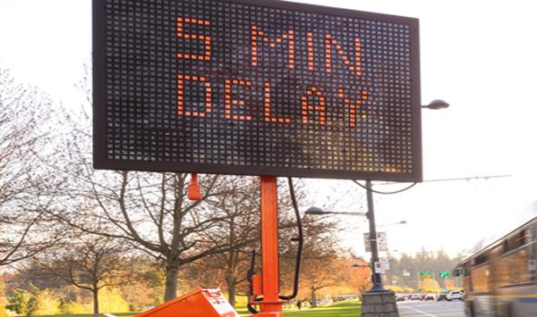 VMS Boards Mooven Traffic Construction